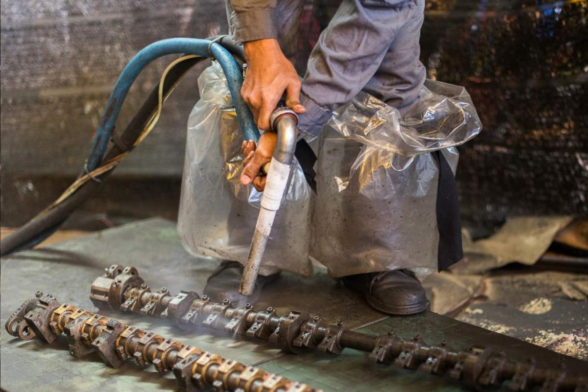 renowacja elementów mechanicznych